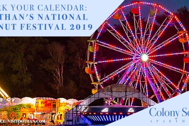 Mark Your Calendar: Dothan's National Peanut Festival 2019