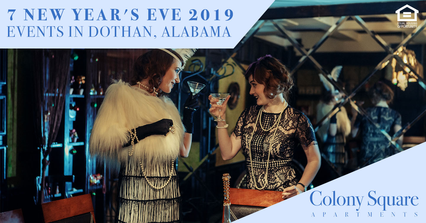 New Year's Eve 2019 Events in Dothan, Alabama