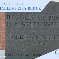 World's Smallest City Block