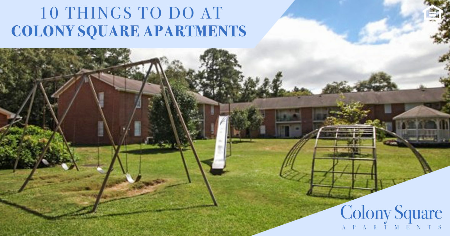 things to do at Colony Square Apartments