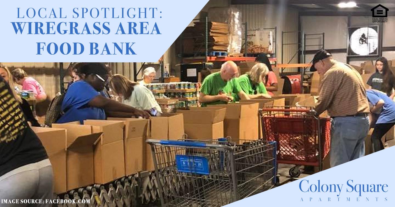 Local Spotlight: Wiregrass Area Food Bank