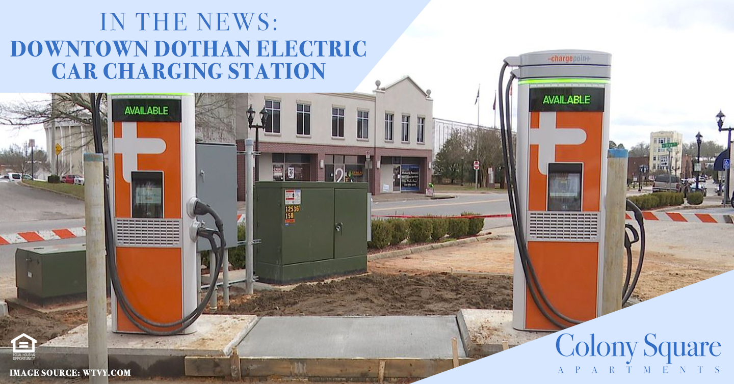 Downtown Dothan Electric Car Charging Station