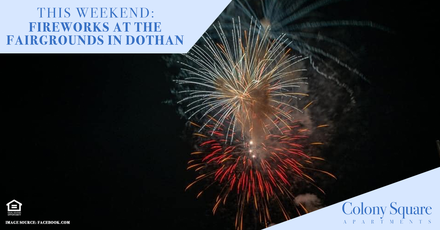 Fireworks at the Fairgrounds in Dothan
